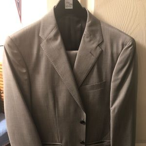 SAKS Zegna Fabric Suit